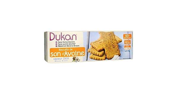 Dukan Galletas Bran D Avena Sabor 6x3 Galletas de Coco: Amazon.es: Salud y cuidado personal