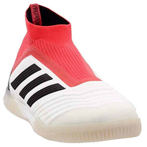 adidas Mens Predator Tango 18+ Indoor Soccer Athletic Cleats Red;White 9 (Best Wr Football Cleats)
