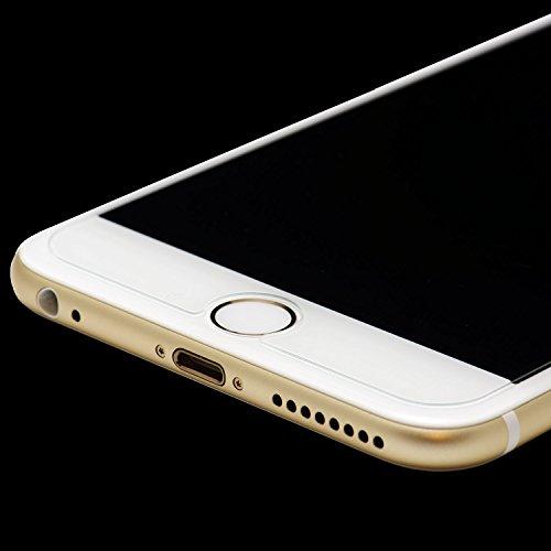 PLT24® 0,3mm 9H Hartglas / Panzerglas / Displayschutzglas / Tempered Glass / Panzer Glas Folie / Schutzglas / Glasfolie für iPhone 6 (4,7 Zoll) (bewusst kleiner als das Display, da dieses gewölbt ist)