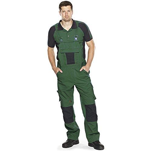 """Mascot Polo-shirt """"Bottrop"""", 1 Stück, S, grün/schwarz, 50502-260-0309-S"""