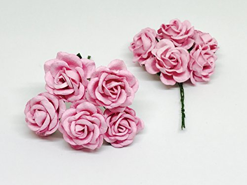 15-Pink-Mulberry-Paper-Flowers-Pink-Wedding-DIY-Wedding-Decor-DIY-Paper-Bouquet-Artificial-Flowers-Wedding-Crafts-Home-Decorations-Baby-Shower-Decor-12-Pieces