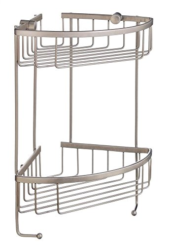 Smedbo Sideline Design Corner Double Soap Basket Bathroom Shelf