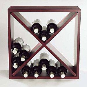 Wine Enthusiast 24 Compact Mahogany