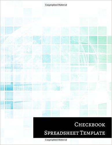 checkbook template