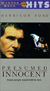 Presumed Innocent [VHS]