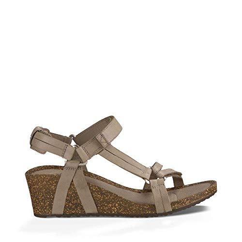 Teva Women's W Ysidro Universal Wedge Sandal, Taupe, 7 M US