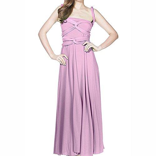 IBTOM CASTLE Women's Infinity Gown Dress Multi-Way Strap Wrap Convertible Maxi Dress (6/S, ()