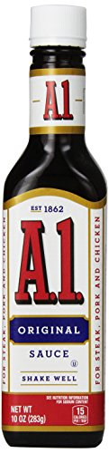 A1 Original Meat Sauce 10 oz Bottle (Pork Steak Sauce)