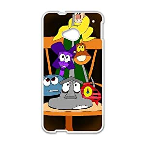 HTC One M7 White phone case Classic Style Disney Cartoon Brave Little Toaster OBN8956187