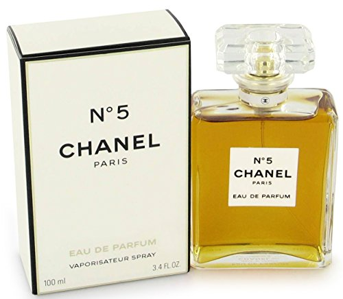 Chanel No 5 Eau De Parfum Spray (Chânel No.5 Eau De Parfum Spray for Woman, EDP 3.4 Ounces 100 ML)