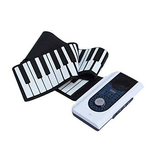 [해외]YIHANGG Hand-Rolled Piano 88 Keys Multi-Function Folding Portable Electronic Organ Thickening Feel Keyboard Instruments / YIHANGG Hand-Rolled Piano 88 Keys Multi-Function Folding Portable Electronic Organ Thickening Feel Keyboard I...