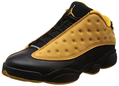 NIKE Mens Air Jordan 13 Retro Low Chutney Black/Chutney Leather Size 12 (Jordan Air Xii Retro Low)