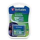 Verbatim Premium CompactFlash Memory Card, 95500, 4GB, 66X, TAA [Non - Retail Packaged]