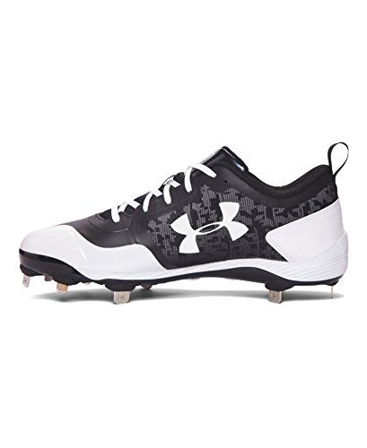 Under Armour Mens Ua Verwarming Laag St Honkbalcleats Zwart / Wit