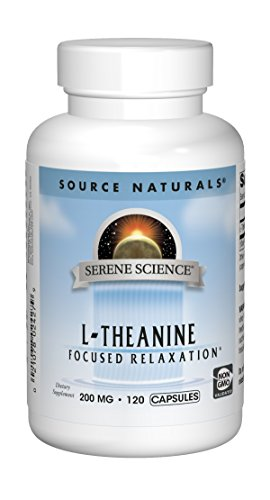 Source Naturals L Theanine Relaxation Capsules