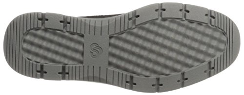 Clarks Herren Tunsil Mid Klassische Stiefel Schwarz (Black Textile)