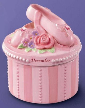 (A Time to Dance Classics December Ballerina Trinket Box by Russ)