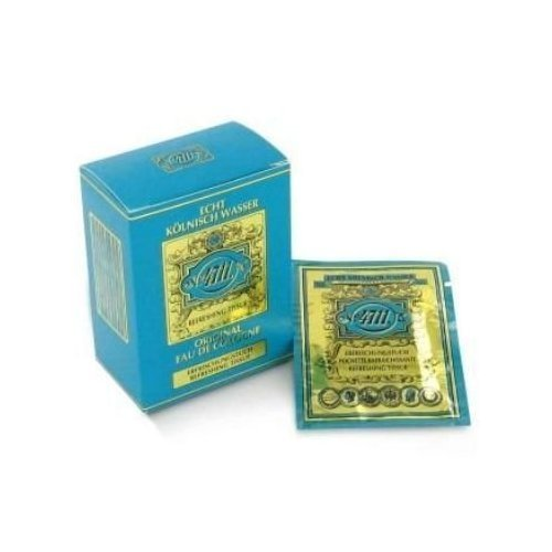 (4711 Perfume, Lemon Scented Tissues (Unisex)-10 Per Pk, For Women, By MUELHENS)