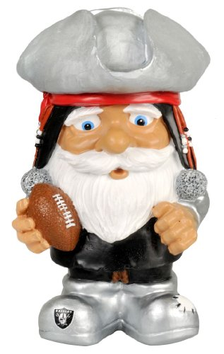 Oakland Raiders Gnome Nfl - Oakland Raiders Football Mad Hatter Gnome