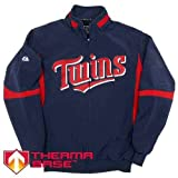 Youth Minnesota Twins Authentic Therma Base Premier Jacket