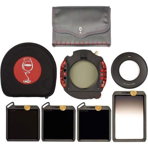 ワインカントリーカメラ100 mmマスターフィルタ&ホルダーキットwith 77 mmアダプタ   B07CV6TZB2