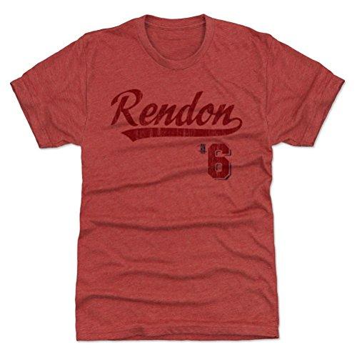 500 LEVEL Anthony Rendon Premium Shirt XXX-Large Tri Red - Washington Baseball Fan Apparel - Anthony Rendon Script R