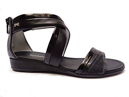 Nero Giardini , Damen Sandalen schwarz schwarz 36