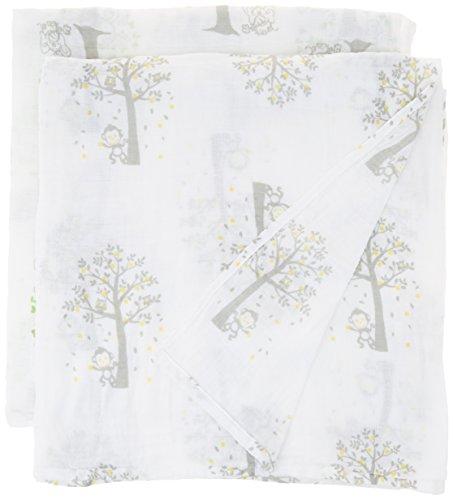 Muslin Swaddle Blankets Pack Elephant product image