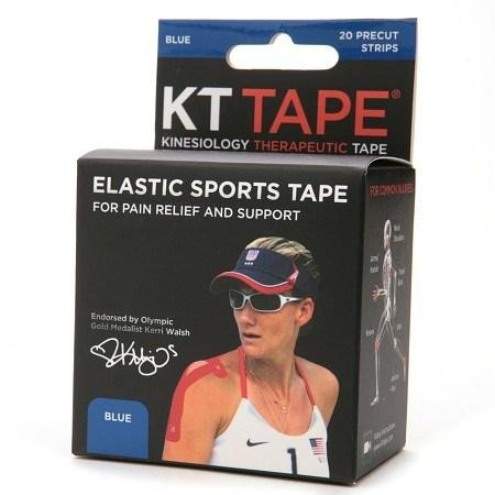 KT Tape Kinesiology Therapeutic Tape Precut Strips - 3PC by KT Tape