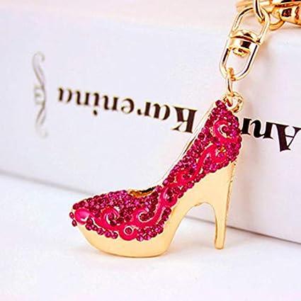 Amazon.com: Llavero de diseño de moda con cadena creativa ...