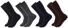 Best Online Merkki Men Cotton Luxury Socks 6 pack8 pack Dress Athletic Crew