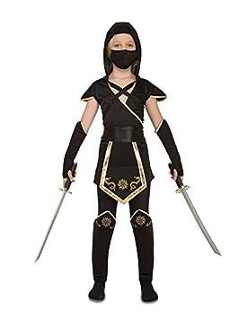 DISBACANAL Disfraz de Ninja para niña - Único, 7-9 años ...