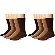 Dockers Men's 10 Pack Cushion Comfort Sport Crew Socks