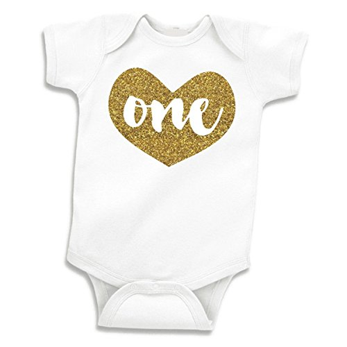 Baby Girls First Birthday Outfit for One Year Old -
