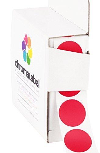 1,9 cm color-code DOT etichette | adesivo permanente, 3/4 in. –  1,000/dispenser box 9cm color-code DOT etichette | adesivo permanente 3/4in.-1 Chromalabel.com ACAL02319