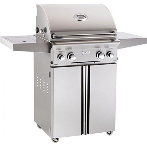 AOG American Outdoor Grill L-series 24-inch 2-burner Freestanding Propane Gas Grill - 24pcl-00sp