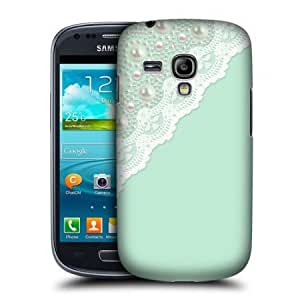 Cerhinu Head Case Mint Laces And Pearl Back Case For Samsung Galaxy S3 Iii Mini I8190
