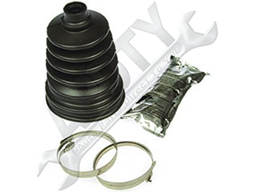APDTY 725114 Uni-Fit C.V. Joint Boot Kit Outer greater than 3.58 In. Diameter (1993 Cadillac Eldorado A/c)