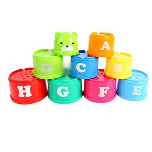 12pcs Educational Cup Toys For Baby - 5