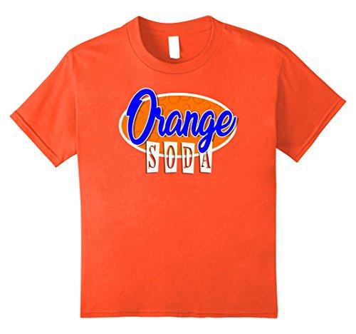 Kids SODA POP Group Costume | Orange Soda Costume 12 Orange