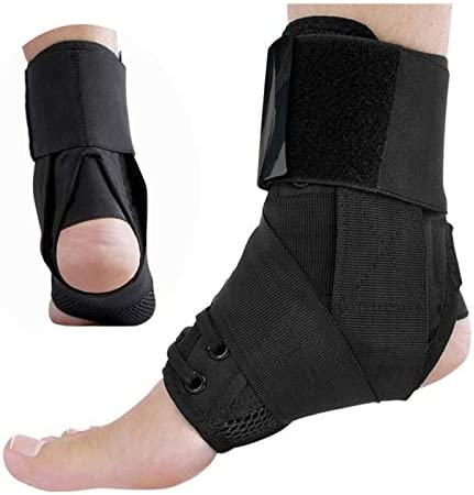 Reusable Breathable Ankle Braces Bandage Straps Sports Safety Adjustable Comfortable Compression Ankle Protectors Supports Guard Foot Orthosis Arch Personal Care Health Supplies Equipment Pain Relief