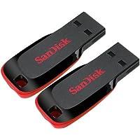 Sandisk Cruzer Blade 16 GB Pack Of 2 Pendrive