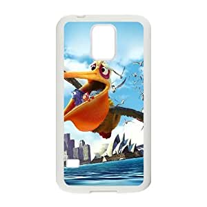 Samsung Galaxy S5 Cell Phone Case White_ah40 finding dory disney sea illust art Pwong