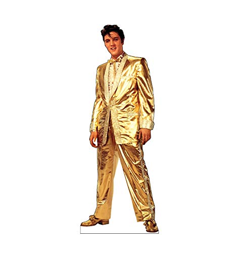 (Advanced Graphics Elvis Presley Life Size Cardboard Cutout Standup)