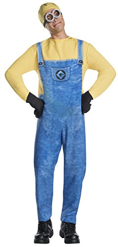 Rubie's Men's Despicable Me 3 Movie Minion Costume, Jerry, Standard (Minion Costumes For Adults)