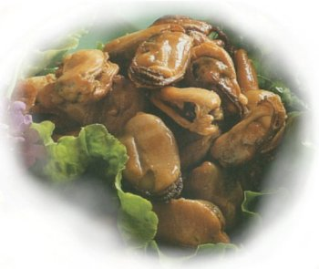 Mussel Fish Fresh - 1 lb. Smoked Mussels