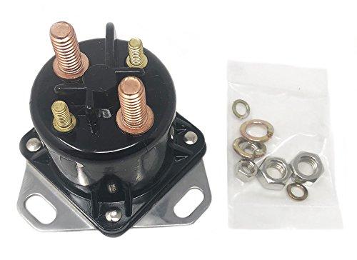 OEM Style Ford Diesel Glow Plug Relay Solenoid 6.9L & 7.3L Powerstroke, Turbo, Replaces F81Z-12B533-AC. F7TZ-12B533-CA3 ()