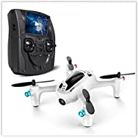 Hubsan FPV X4 Plus H107D+ RC Quadcopter Drone FPV Real-time Transmission Altitude Mode 2.0MP HD Camera RTF White