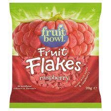 Fruit Bowl Fruit Flakes Raspberry 20G