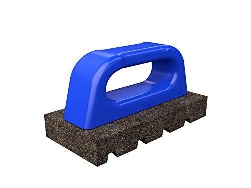 Bon 12-280 6-Inch by 3-Inch Rub Brick with Handle, 60 Grit